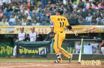 中職》蔣智賢敲大號全壘打 本季最快第十轟球員(影音)