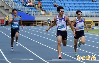 田徑》短跑男神楊俊瀚今年首戰 預賽輕鬆達亞錦賽標準