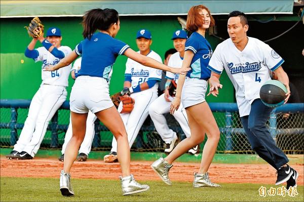吳永仁中職開球 運球打通關