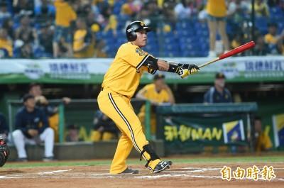 中職》陳子豪3響砲紀錄球棒 借林智勝卻打斷了