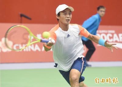 網球》釜山挑戰賽「台灣內戰」 盧一哥強壓陳迪開胡