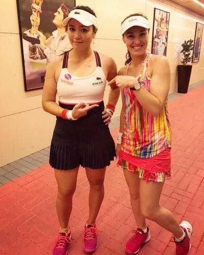 網球》今晚6時爭冠軍戰門票 「辛然配」羅馬女網4強出擊