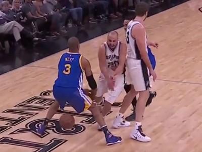 NBA》鬼之切入再現!39歲吉諾比利1挑4過人超熱血(影音)