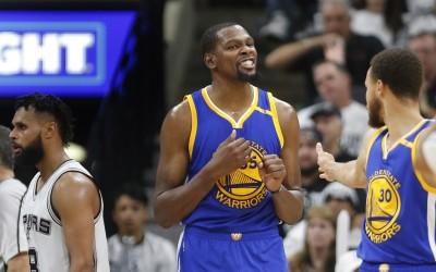 NBA》今年季後賽分差大難看?杜蘭特:不喜歡就別看