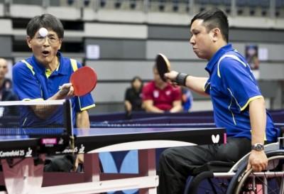 台灣之光!輪椅桌球程銘志、林晏弘摘奪世界盃金牌
