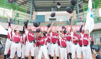 華南金控少棒》台東縣扣倒新竹縣勇奪冠軍 取得U12台灣隊組訓權