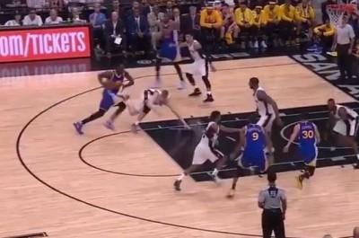 NBA》腳踝終結者!格林切入害他糗跌倒(影音)