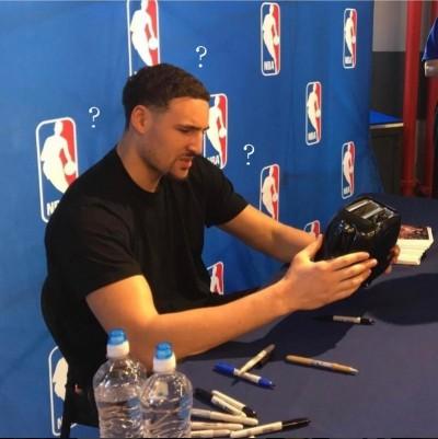 NBA》施了魔法!「浪花弟」將連勝歸功簽名吐司機