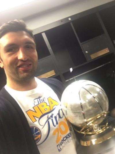 NBA》勇士晉級總冠軍戰 帕丘利亞PO照引網友開酸