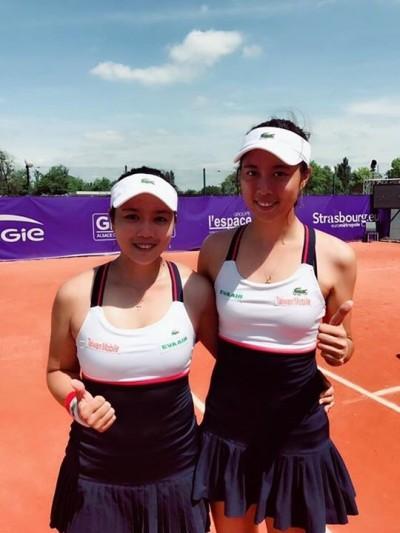 網球》雙詹姊妹重合體 史特拉斯堡紅土連勝晉4強