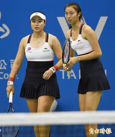 網球》史特拉斯堡紅土賽 雙詹決賽不敵3座大滿貫亞軍組合