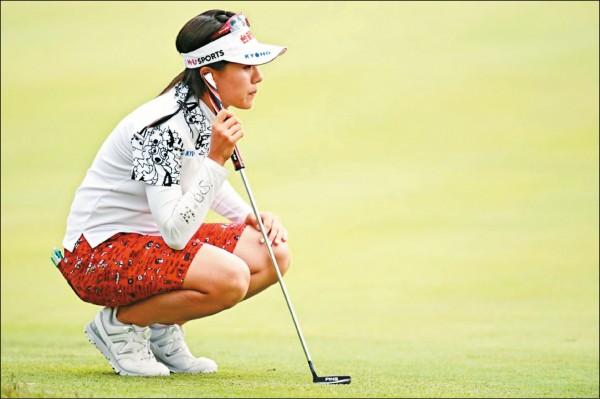 日本LPGA Resort Trust高球賽》初嘗連日排頭 蔡佩穎今爭首冠