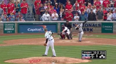 MLB》國民小將超威 150公里滑球連發K掉打者(影音)