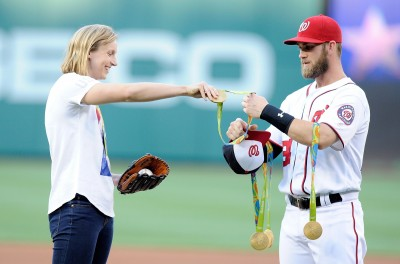 MLB》哈波挨砸爆出姻緣?奧運正妹開約:被禁賽來陪我