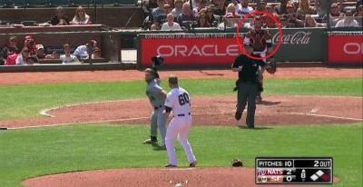 MLB》眼睜睜看投手被揍 巨人鐵捕解釋原因(影音)