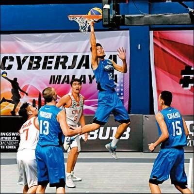 國際籃總力推3對3籃球 有望進軍東京奧運