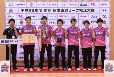 桌球》江宏傑助琉球升級 明年也在T聯賽亮相