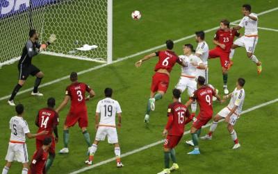 聯合會盃》終場前頭錘破門 墨西哥驚險踢平葡萄牙 (影音)
