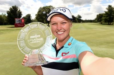 高球》Meijer LPGA菁英賽 加拿大女將韓德森奪冠