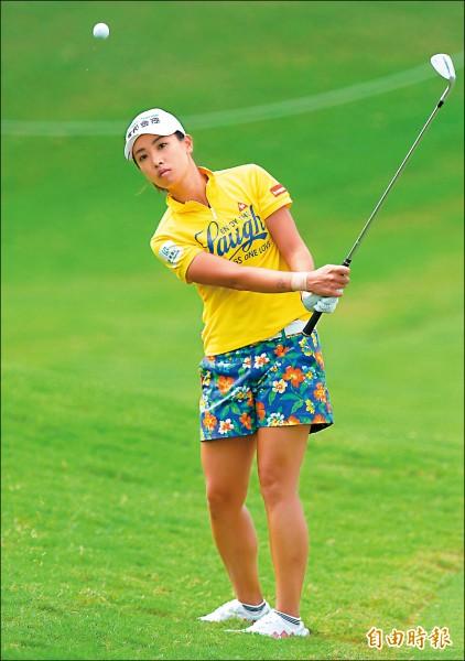日本LPGA》揮出單日最佳 姚宣榆衝11名