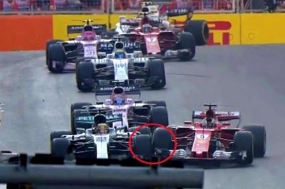 F1》亞塞拜然站正賽 漢米爾頓、維特爾因衝撞無緣前3 (影音)