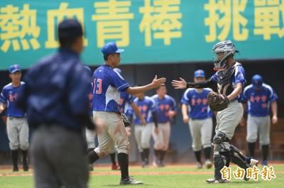 玉山盃》王志庭143球後援豪投 台中市搶下季軍