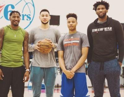 NBA》76人新四巨頭未打先轟動 KD吐槽:還沒打就取綽號?