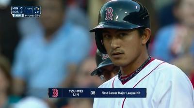MLB》生涯首打席就敲安! 林子偉寫台灣最速紀錄(影音)