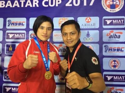 台灣拳擊女王陳念琴 奪國際賽事75公斤量級金牌