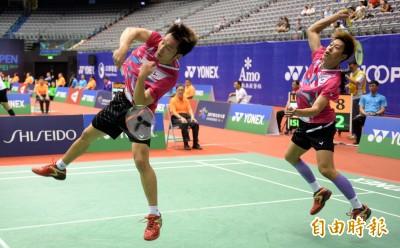 台北羽球公開賽》台灣最強男雙李洋/李哲輝 終於在小巨蛋開胡了
