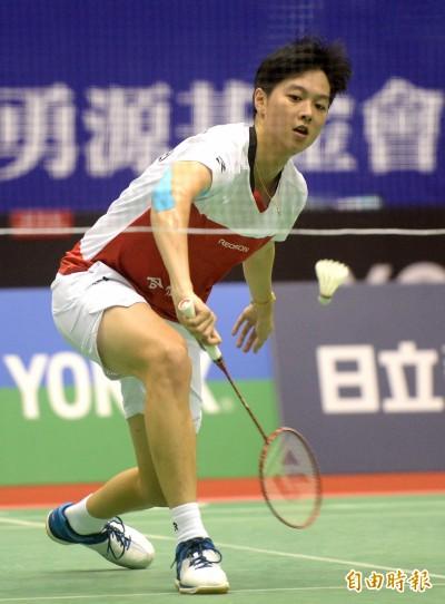台北羽球公開賽》白馭珀走出肘傷低潮 期盼能把冠軍留在台灣