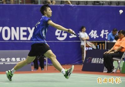 台北羽球公開賽》終於打順了!「羽球王子」王子維晉級男單8強