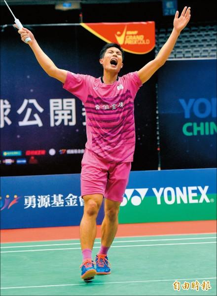 台北公開賽》「天王」對決 周天成大逆轉連霸