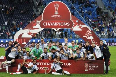 聯合會盃》智利後場失誤送分 德國1球小勝奪冠 (影音)