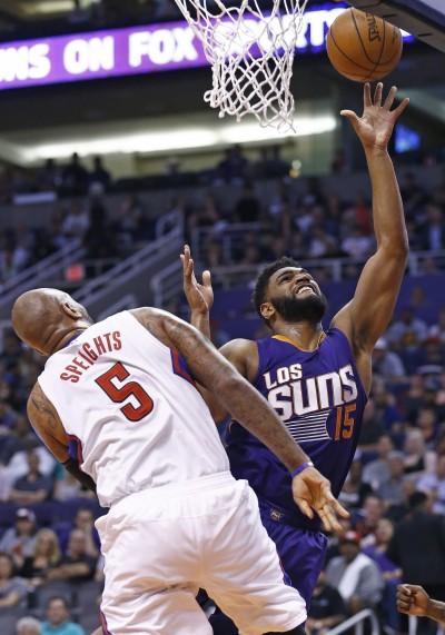 NBA》籃板悍將威廉斯 3年5.1億續留太陽