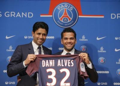 法甲》巴黎聖日耳曼再添幫手 阿爾維斯簽2年合約
