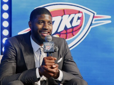 NBA》原有機會搭上奪冠列車 喬治:我差點去勇士