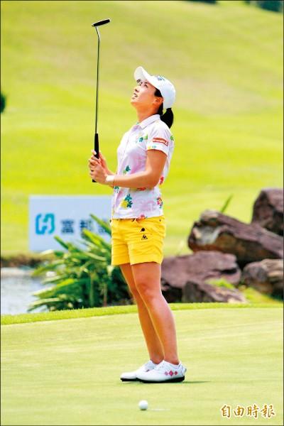 台灣大哥大女子公開賽》姚宣榆3度加賽 冠軍仍失「泰」