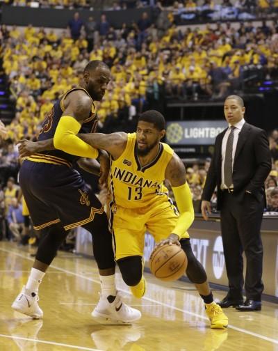 NBA》致命失誤遭雷霆攔胡 美媒爆騎士差點簽下喬治