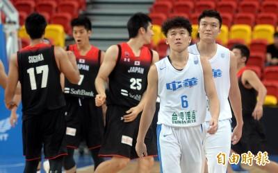 瓊斯盃》陳冠全、陳盈駿拚到最後 台灣白被日本逆轉惜敗