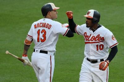 MLB》馬查多、史構普各3打點 金鶯退遊騎兵奪3連勝