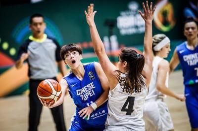 女籃》下半場進攻當機 台灣遭紐西蘭逆轉