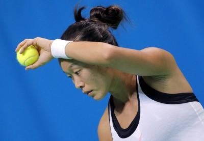 網球》張凱貞南昌女雙受挫 明戰亞洲一姊張帥