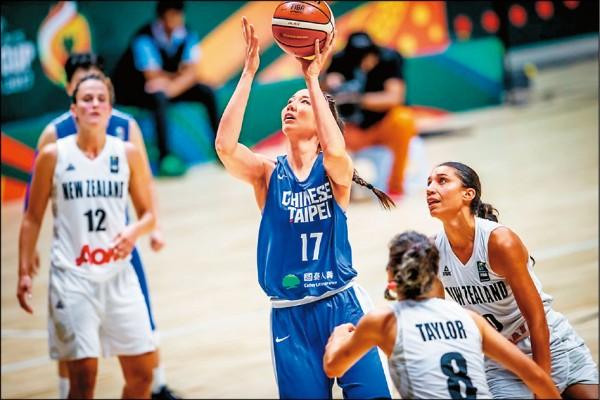 亞洲盃女籃賽》浪費17分領先 慘遭紐西蘭逆轉