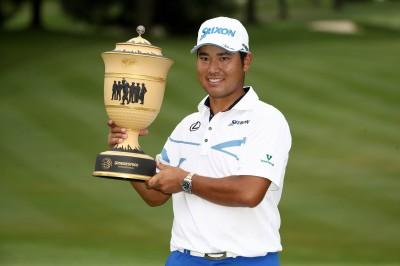 高球》松山英樹平紀錄 贏得WGC系列普利司通邀請賽冠軍