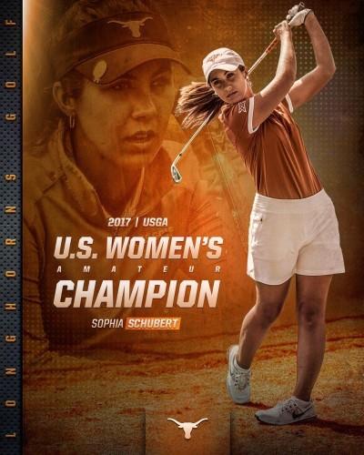 美國女子業餘錦標賽 21歲女將舒伯特摘冠