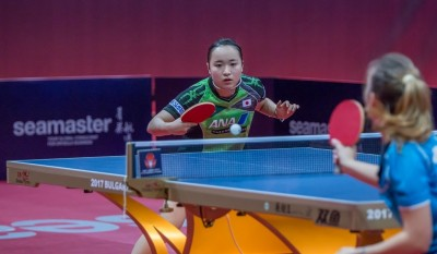 不可思議!保加利亞桌球公開賽 日本包辦女單16強