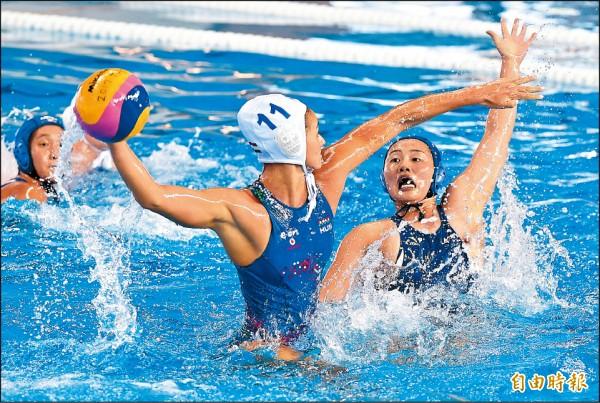 世大運》「匈」猛水姑娘 首戰大勝日本