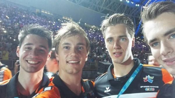 世大運》荷蘭擊劍隊小鮮肉 賽後要留在台灣實習