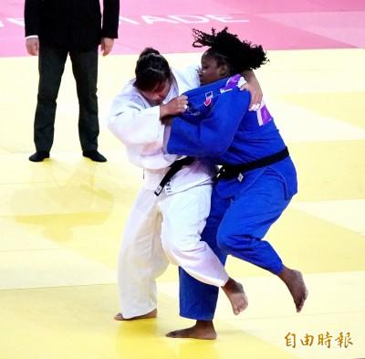 世大運》女子柔道78公斤以上級 孫佩妤並列第5未能奪牌